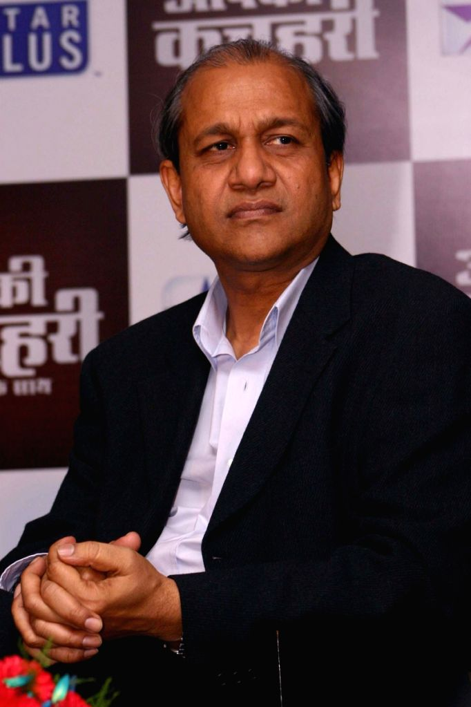 "New Delhi,12 March 2008-Siddharth Basu at the celebration of success of  The TV Show ""Aap Ki Kachehri-Kiran Ke Sath"" in New Delhi on Thursday."
