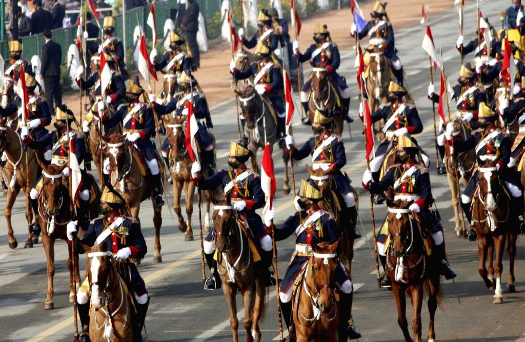 New delhi:72 Republic Day celebration in New Delhi.