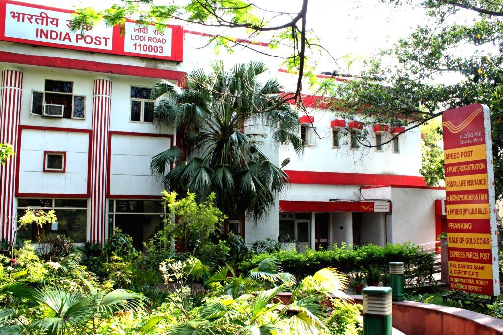 New Delhi: A India Post office in New Delhi. (Photo: Amlan Paliwal/IANS)