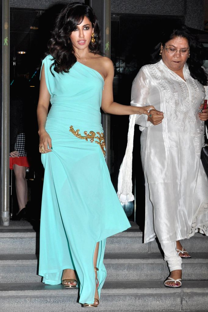 Actor Chitrangada Singh during the red carpet of Grand Finale of Miss India 2015, in Gurgaon on March 30, 2015. - Chitrangada Singh