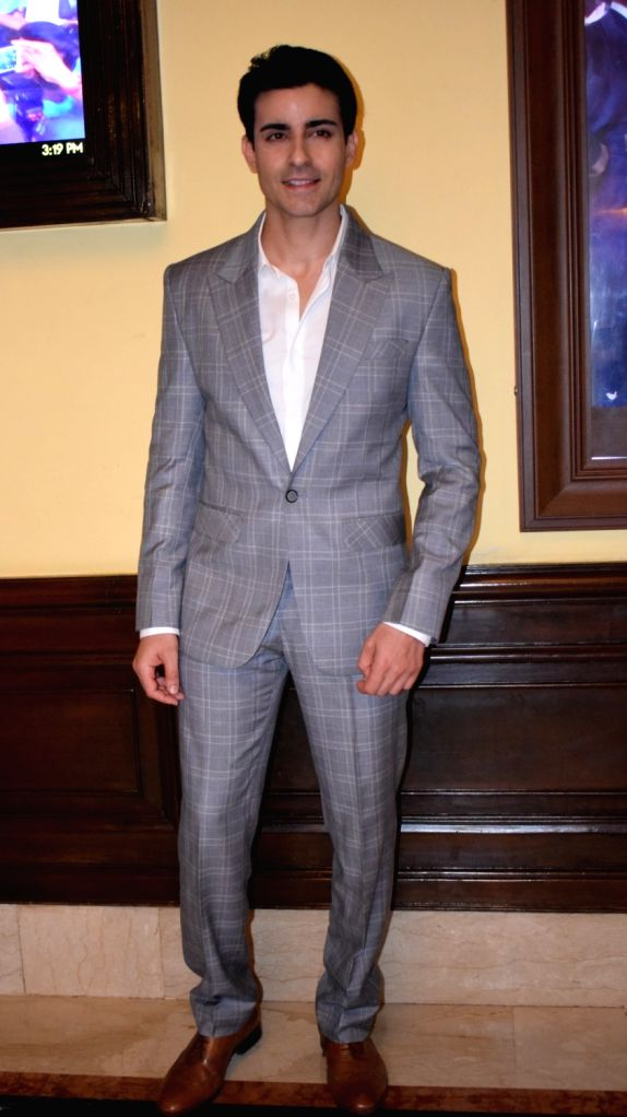 """:New Delhi: Actor Gautam Rode during the promotions of his upcoming film """"Aksar 2"""" in New Delhi, on Nov 14, 2017. (Photo: IANS)."""