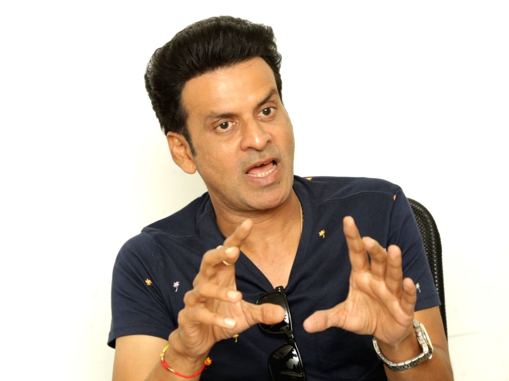 New Delhi: Actor Manoj Bajpayee during an interaction at IANS Office in New Delhi, on Aug 31, 2018. (Photo: Amlan Paliwal/IANS) - Manoj Bajpayee