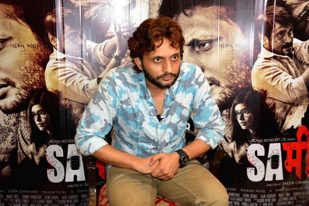 "New Delhi: Actor Mohammed Zeeshan Ayyub during a press conference to promote his upcoming film ""Sameer"" in New Delhi on Sept 4, 2017. (Photo: IANS) - Mohammed Zeeshan Ayyub"