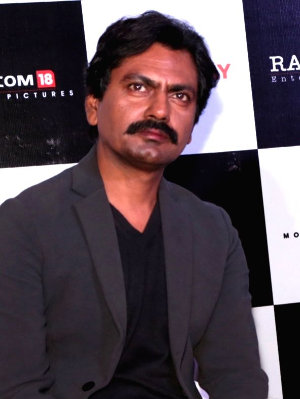 "New Delhi: Actor Nawazuddin Siddiqui at a press conference to promote their upcoming film ""Thackeray"" in New Delhi, on Jan 22, 2019. (Photo: Amlan Paliwal/IANS) - Nawazuddin Siddiqui"