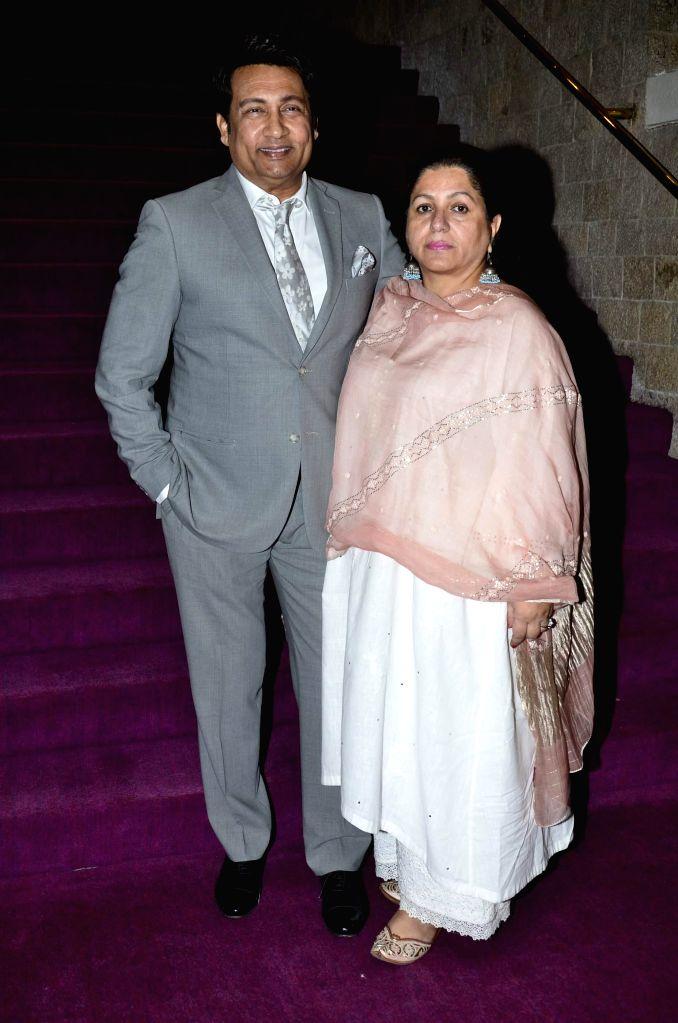 Actor Shekhar Suman along with his wife Alka Kapur during the Dr Batra's 9th Positive Health awards 2014, Mumbai on Nov 13, 2014. - Shekhar Suman