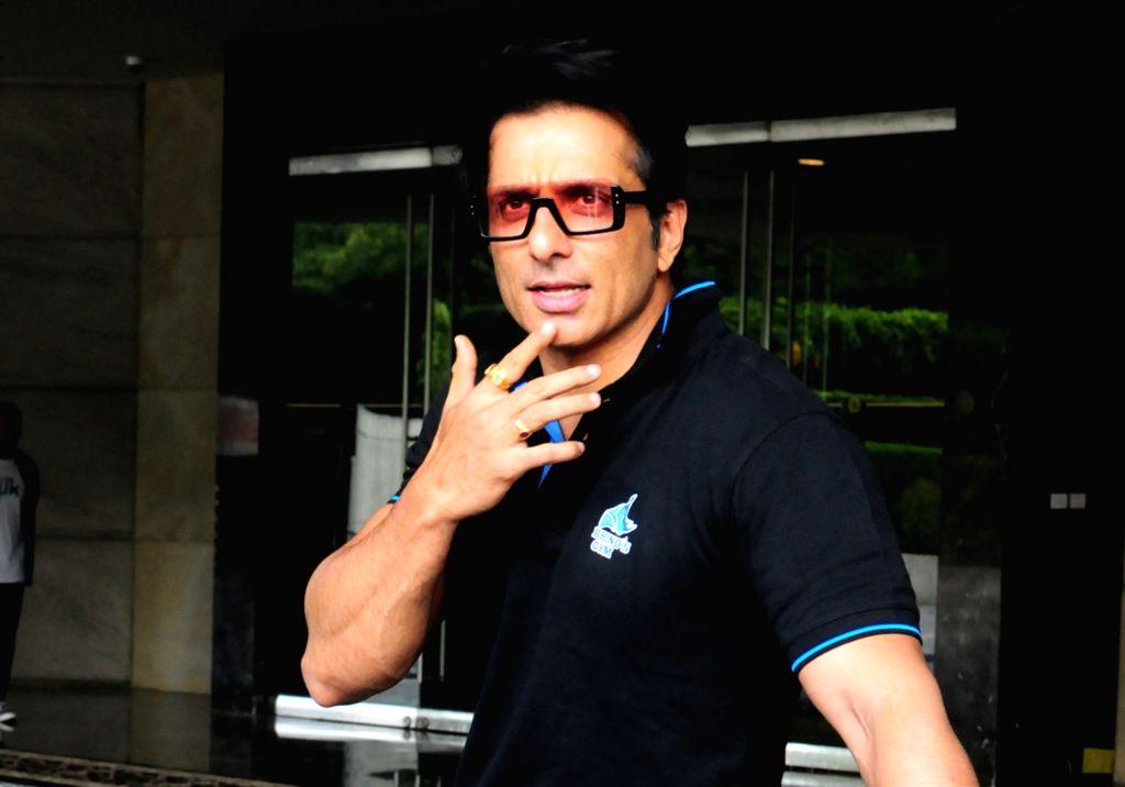 New Delhi: Actor Sonu Sood at the launch of a gym in New Delhi, on May 2, 2019. (Photo: Amlan Paliwal/IANS) - Sonu Sood