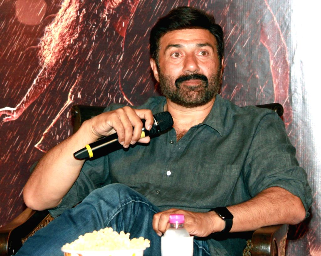 New Delhi: Actor Sunny Deol during a press conference in New Delhi on Oct 1, 2016. (Photo: Amlan Paliwal/IANS) - Sunny Deol