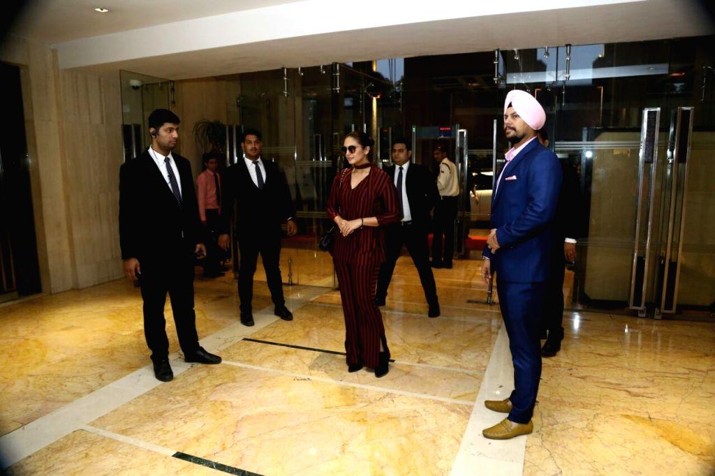 New Delhi: Actress Huma Qureshi during Naaz Awards in New Delhi on Nov 12, 2017. (Photo: Amlan Paliwal/IANS) - Huma Qureshi