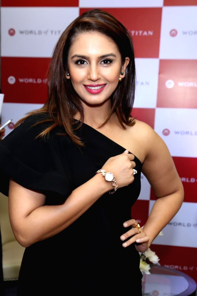 : New Delhi: Actress Huma Qureshi during the launch of `Moonlight Collection` by Titan Raga in New Delhi on Nov 6, 2015. . - Huma Qureshi