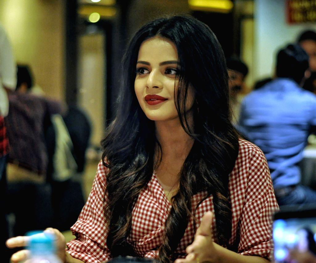 "New Delhi: Actress Jigyasa Singh during a press conference regarding ""Dev 2"" in New Delhi, on June 30, 2018. (Photo: Shubhi Maheshwari/IANS) - Jigyasa Singh"