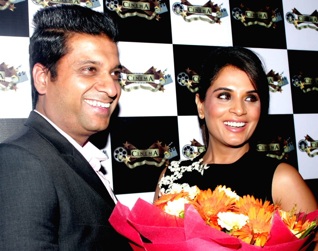 Actress Richa Chadda during the launch of a restaurant in New Delhi on Dec 12, 2014.