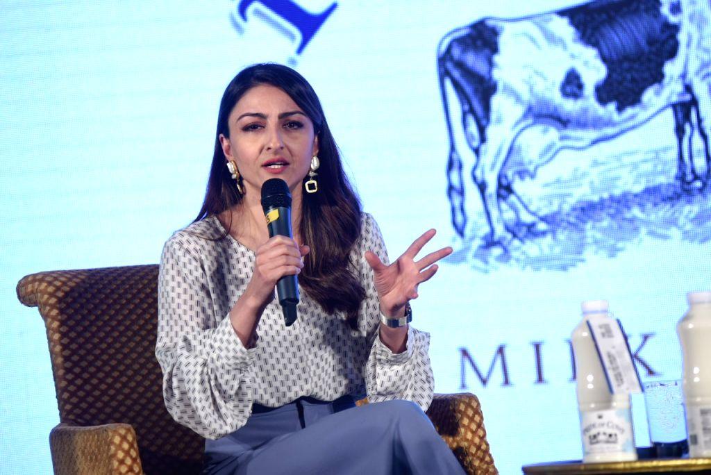 New Delhi: Actress Soha Ali Khan at a dairy product launch programme in New Delhi, on Jan 17, 2019. (Photo: IANS) - Soha Ali Khan