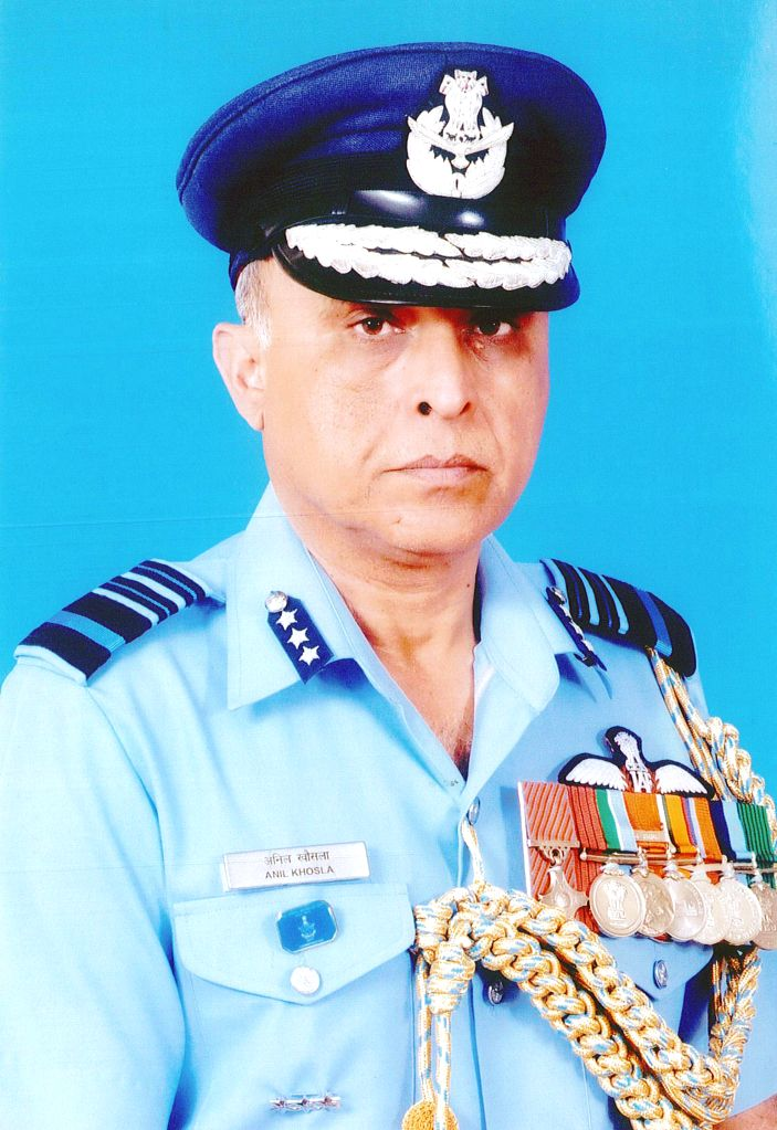 Air Marshal Anil Khosla take over as the Director General Air Operations, in New Delhi on Jan 12, 2015.