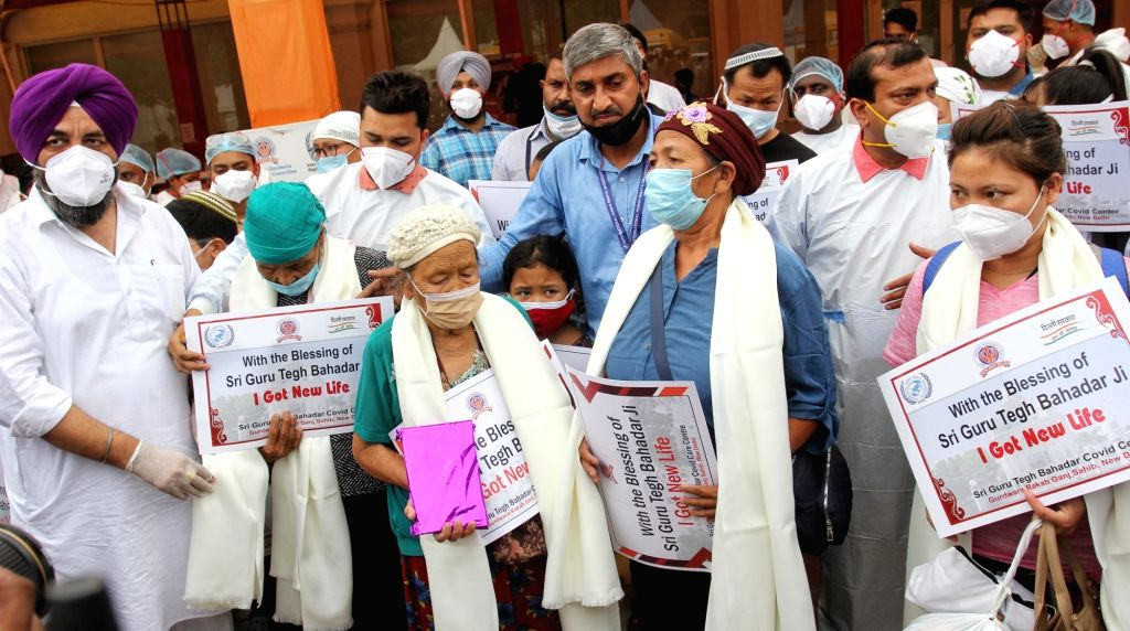New Delhi :  All natives from Manipur people admitted  in Guru Tegh Bahadur COVID  Care Centre, Gurdwara Rakab Ganj Sahib have recovered from Covid - 19 pandemic. The DSGMC General Secretary S. ...