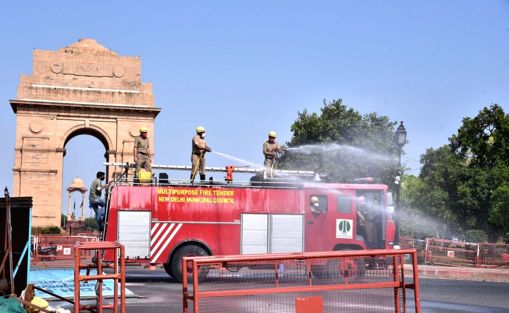 New Delhi, April 17 (IANS) With six new containment zones added in the list, the total tally of the red zones in the national capital on Friday reached 66.	(File Photo: IANS)