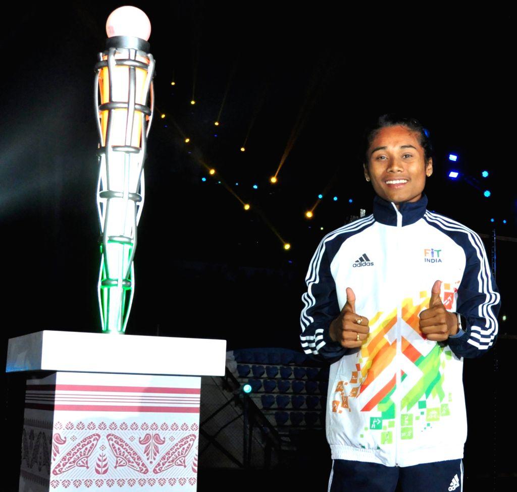New Delhi, April 26 (IANS) Ace India sprinter Hima Das on Sunday said her role model has always been cricket legend Sachin Tendulkar. - Sachin Tendulkar