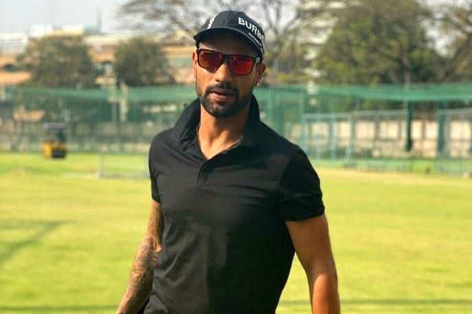 New Delhi, April 27 (IANS) India opener Shikhar Dhawan and wife Ayesha on Monday put out a video on social media to send an important message regarding domestic violence. - Shikhar Dhawan