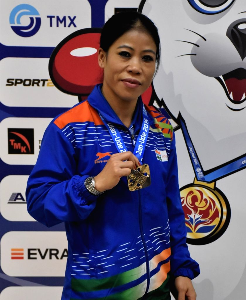 New Delhi, April 27 (IANS) Six-time World Champion M.C. Mary Kom shared her fitness mantra on social media to inspire people to stay fit amid the coronavirus pandemic that has gripped the entire world. - Mary Kom