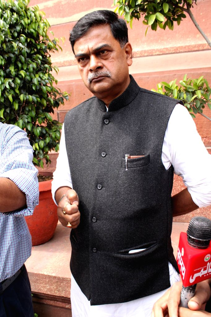 BJP MP R K Singh at the Parliament in New Delhi, on March 13, 2015. - R K Singh