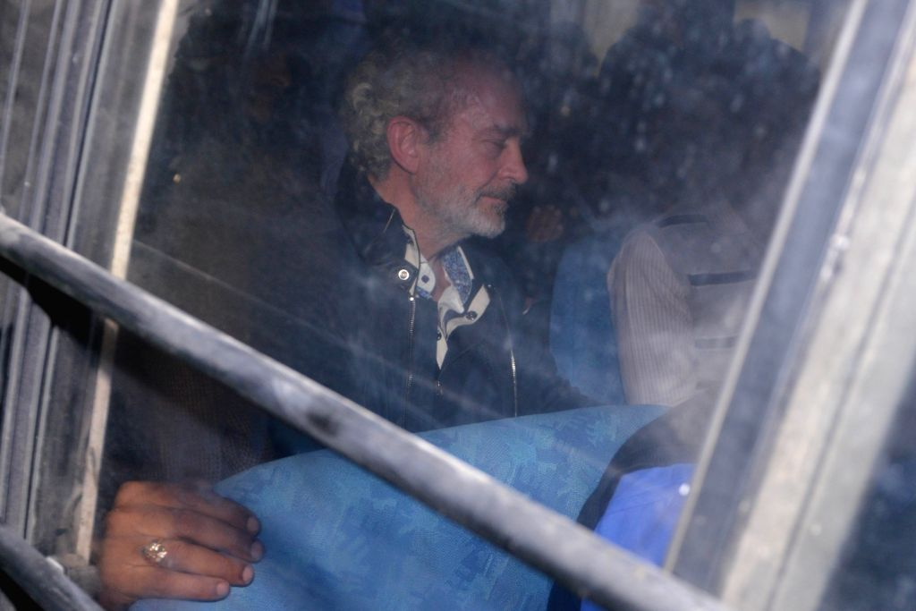 New Delhi: British national Christian Michel James, the middleman wanted in the Rs 3,600 crore AgustaWestland VVIP chopper deal case, who has been remanded to five days CBI custody by a Delhi court on Dec 5, 2018. he was extradited to India on Tuesda