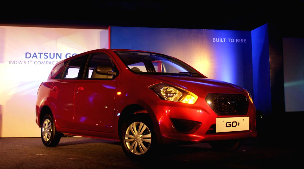 Datsun Go+ launched in New Delhi, on Jan 16, 2015.
