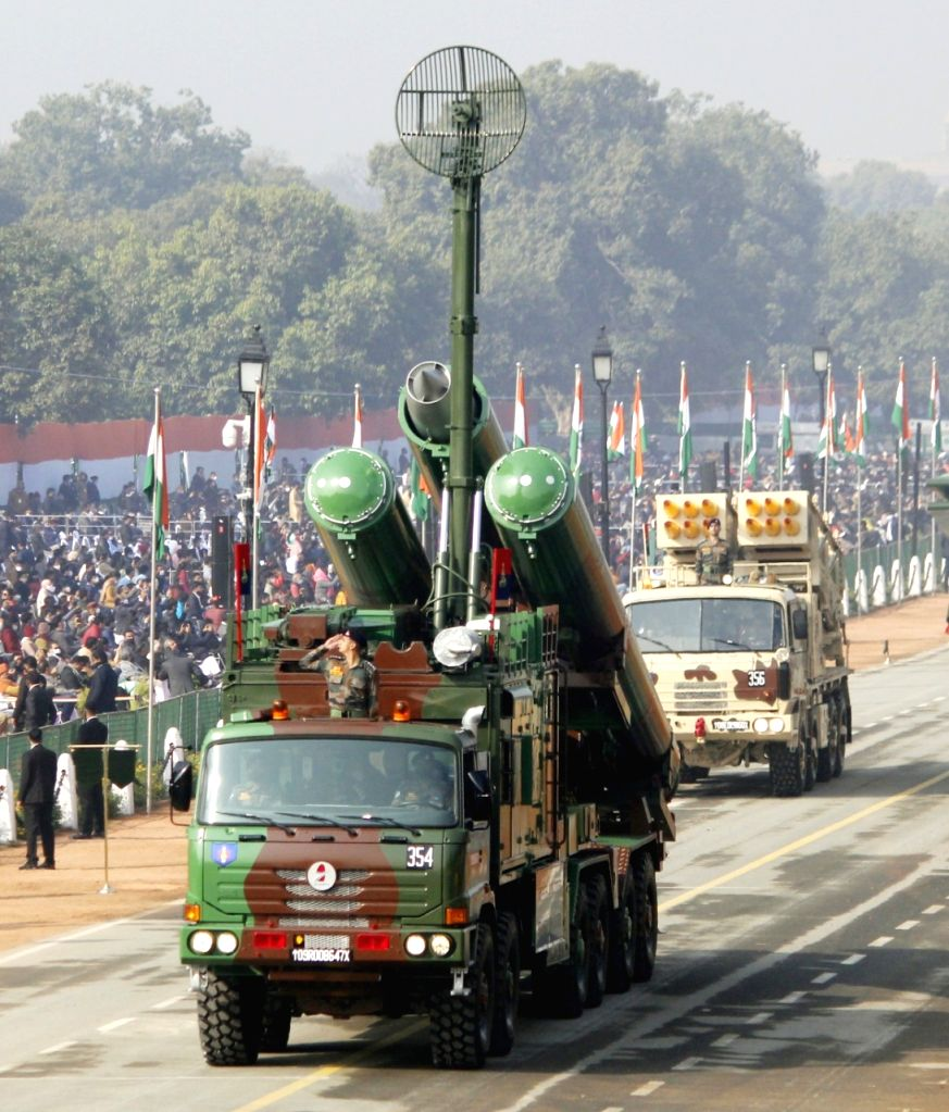 New delhi: Defance contentment take part in 72 Republic Day celebration in New Delhi On Tuesday.