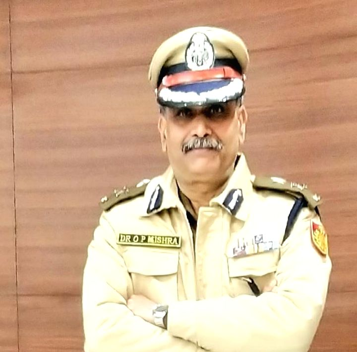 New Delhi: Delhi Joint Commissioner of Police (EOW) O.P. Mishra. (Photo: Sanjeev Kumar Singh Chauhan/IANS) - P. Mishra
