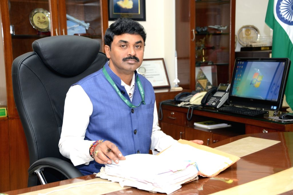 New Delhi: Dr. G Satheesh Reddy takes charge as Secretary, Department of Defence R&D and Chairman, DRDO. (Photo: IANS/DPRO) - G Satheesh Reddy