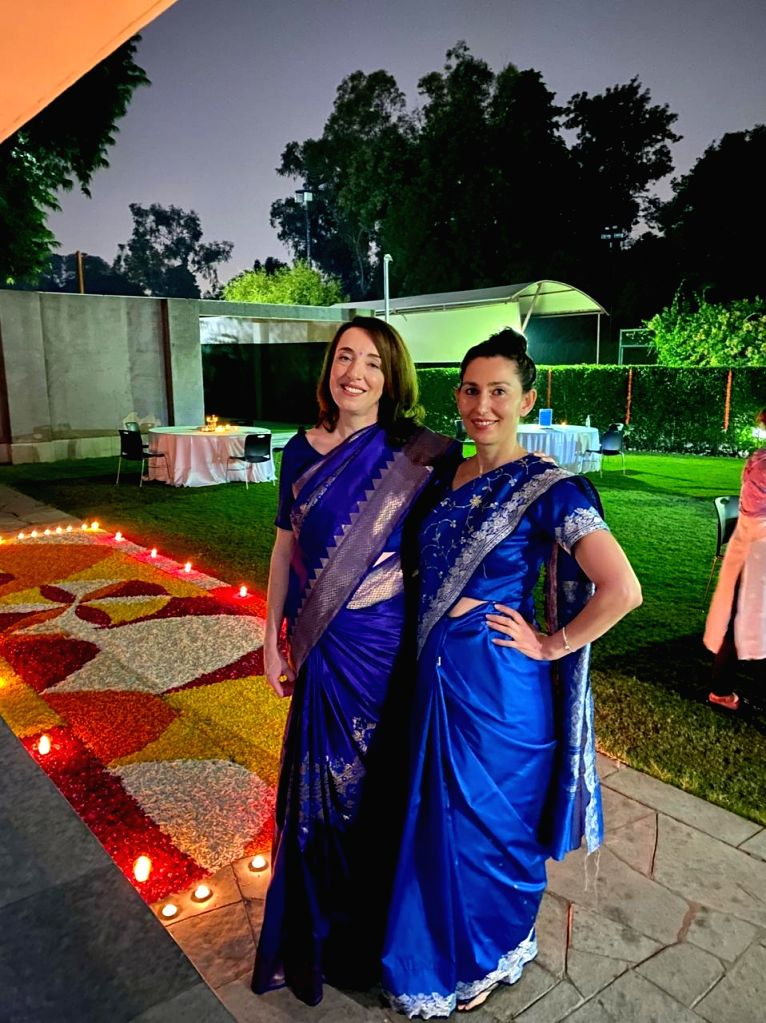 New Delhi: Embassies celebrated Diwali with simplicity, no event organized due to Corona
