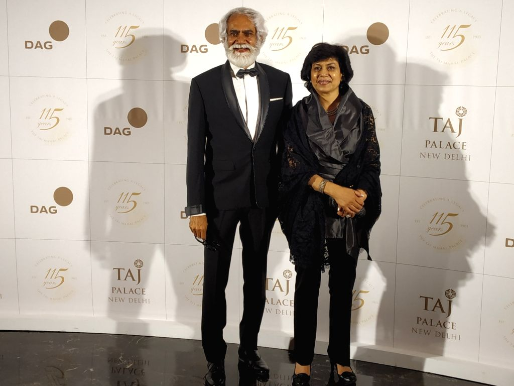 New Delhi: Fashion Design Council of India (FDCI) President Sunil Sethi during the celebration of the second edition of 115 Years Charity Gala in New Delhi on Aug 9, 2019.