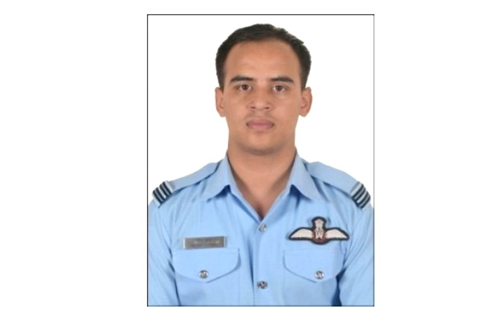 New Delhi: Flt Lt R Thapa one of the 13 persons who died in An-32 aircraft crash in Arunachal Pradesh on June 3. (Photo: IANS/DPRO)