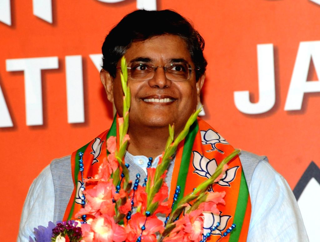 New Delhi: Former Biju Janata Dal (BJD) MP Baijayant Jay Panda who joined the Bharatiya Janata Party (BJP) in New Delhi on March 4, 2019. (Photo: IANS)
