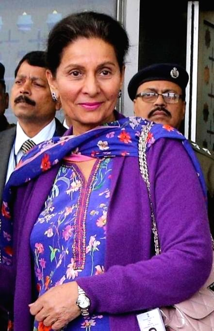 New Delhi: Former union minister Preneet Kaur, who has said that she did not have any foreign bank account. The clarification came on a day when the central government submitted names of three individuals having black money in foreign bank accounts t - Preneet Kaur