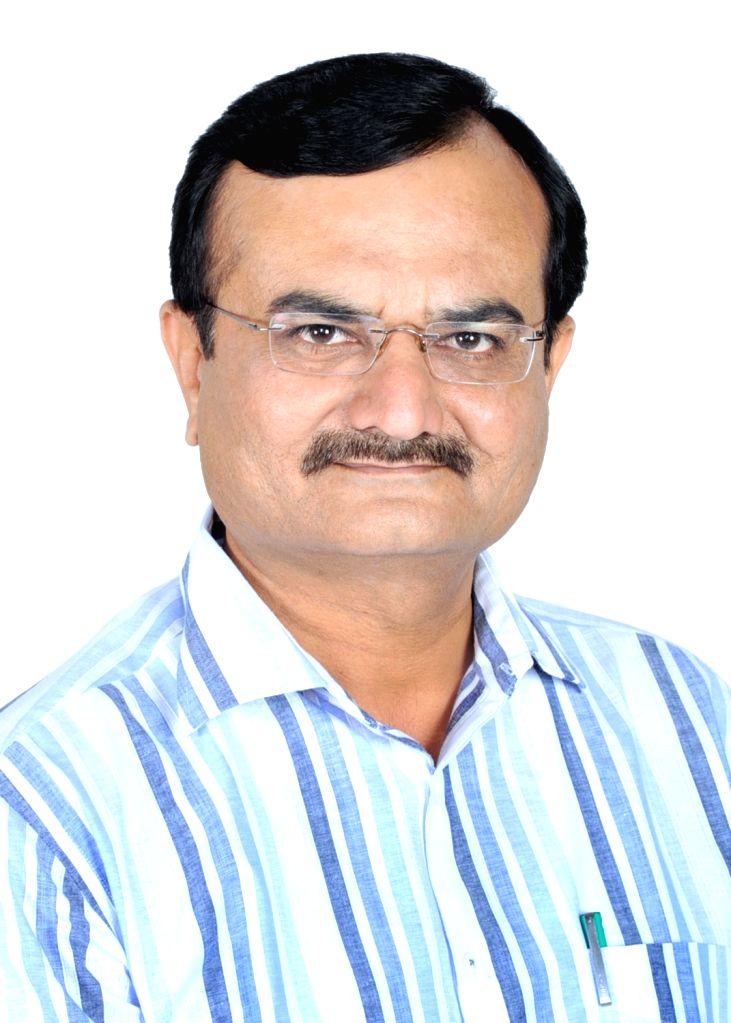 New Delhi: Gujarat Home Minister Pradeepsinh Jadeja. (Photo: Sanjeev Kumar Singh Chauhan/IANS) - Pradeepsinh Jadeja