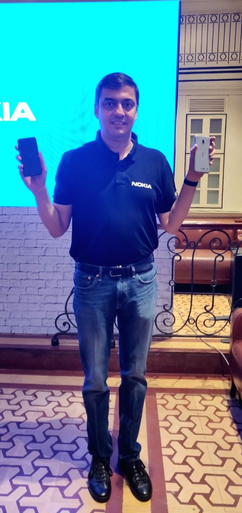 New Delhi: HMD Global Vice President and Country Head Ajay Mehta at the launch of Nokia 2.2 smartphone, in New Delhi on June 6, 2019. (Photo: IANS) - Head Ajay Mehta