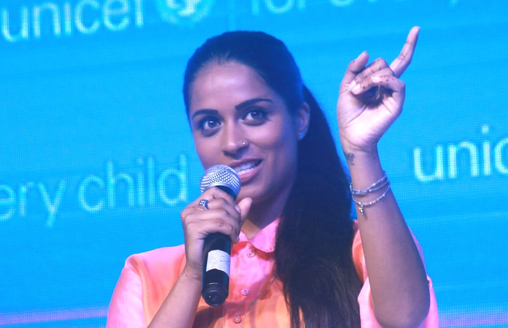 New Delhi: Indian-origin Canadian YouTube star Lilly Singh who is appointed as UNICEF's new Global Goodwill Ambassador during a programme in New Delhi on July 15, 2017. (Photo: IANS) - Lilly Singh