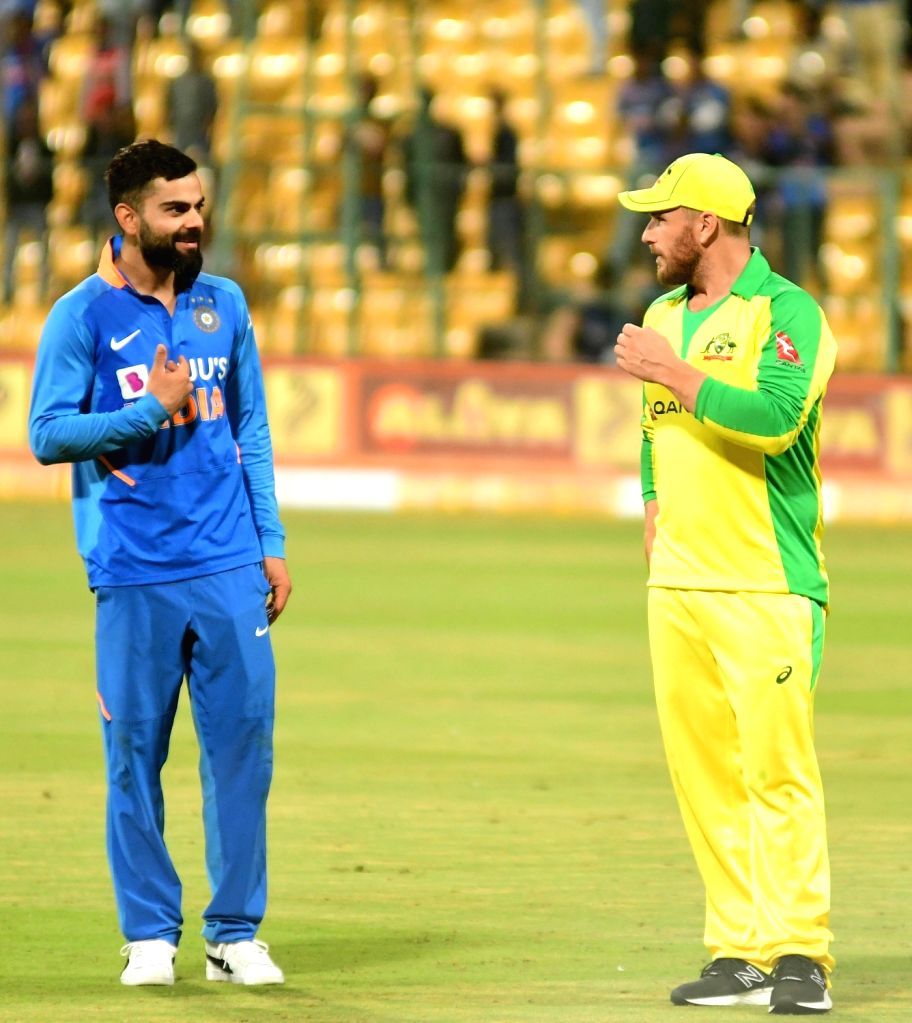 New Delhi, July 1 (IANS) Australia limited-overs skipper Aaron Finch has heaped praise on Virat Kohli and stated the India captain has handled the pressure well that comes along with a job as high-profile as that of leading the Men in Blue across the - Virat Kohli
