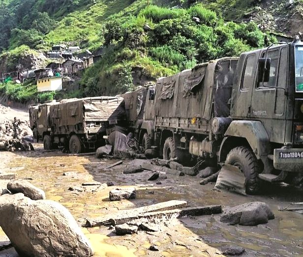 New Delhi, July 30 (IANS) Indian Army troops have been rushed to Uttarakhand's border Pithoragarh district for rescue operations after heavy rains caused havoc in the area.