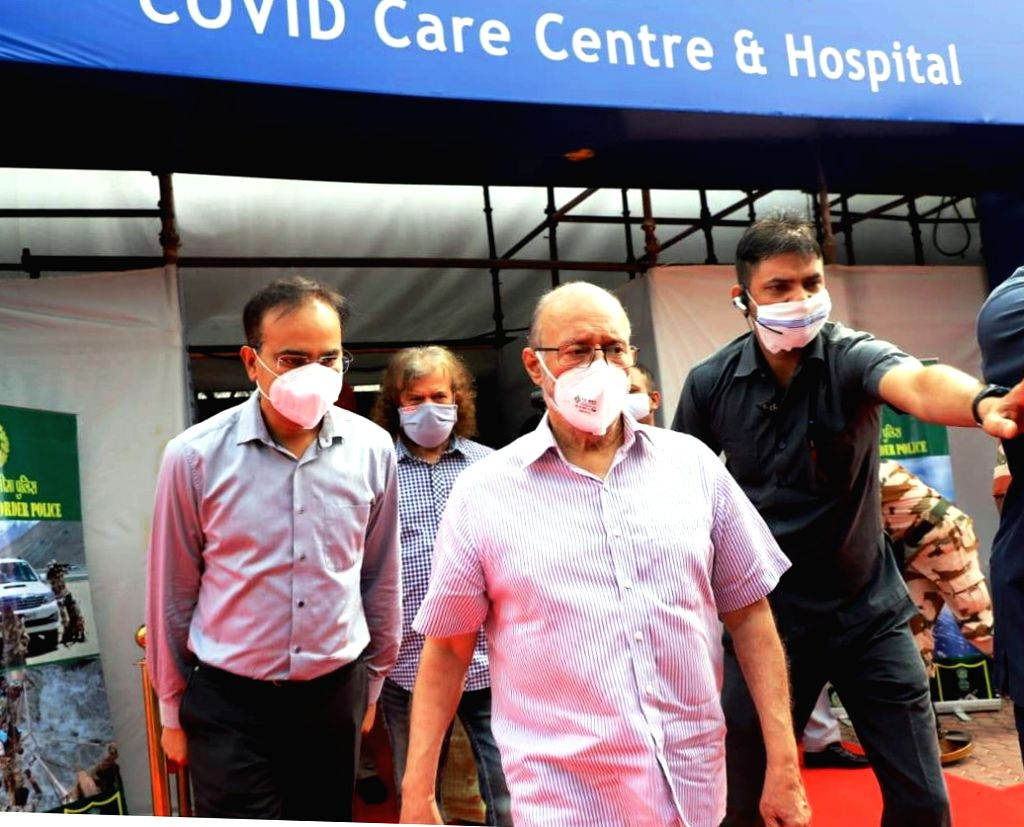 New Delhi, July 5 (IANS) The 10,000-bed Sardar Patel Covid Care Centre and Hospital, inaugurated here on Sunday by Delhi Lieutenant-Governor Anil Baijal, which will serve as a major support system in the fight against coronavirus, is massive in size