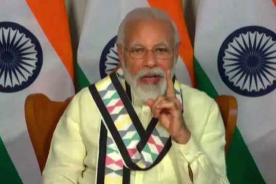 New Delhi, June 17 (IANS) Prime Minister Narendra Modi said on Wednesday that the spread of the coronavirus is greater in certain big states and cities, with the high density of population, difficulty in maintaining physical distance and daily moveme - Narendra Modi