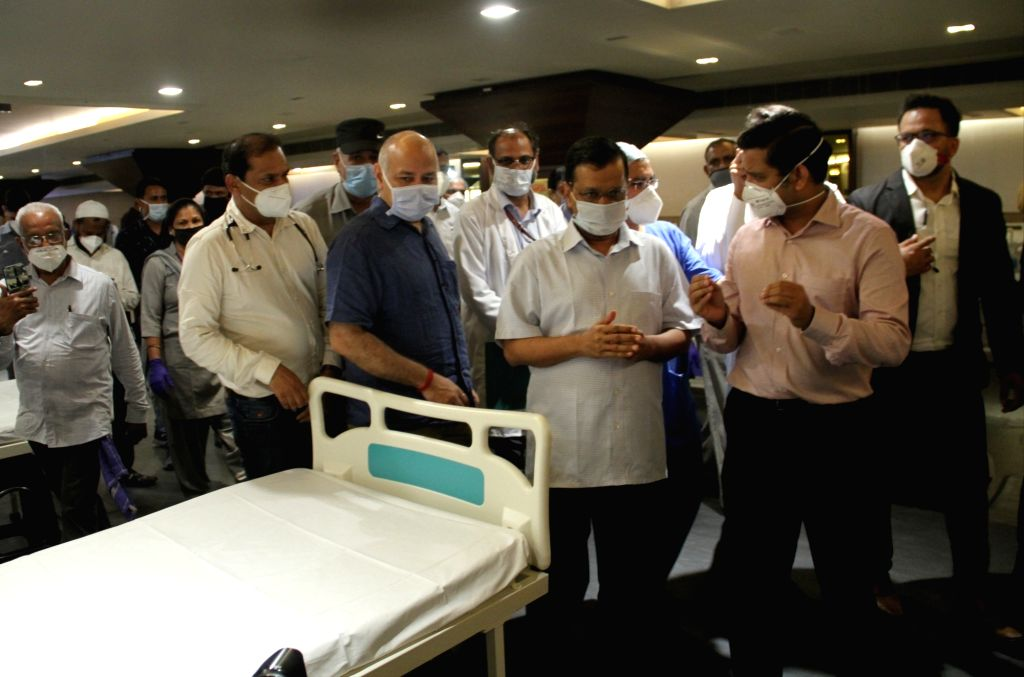 New Delhi, June 26 (IANS) Delhi Chief Minister Arvind Kejriwal on Friday said that Intensive Care Units (ICU) beds are being ramped up across the national capital for serious patients, while those in the home isolation have been sent pulse oximeters  - Arvind Kejriwal