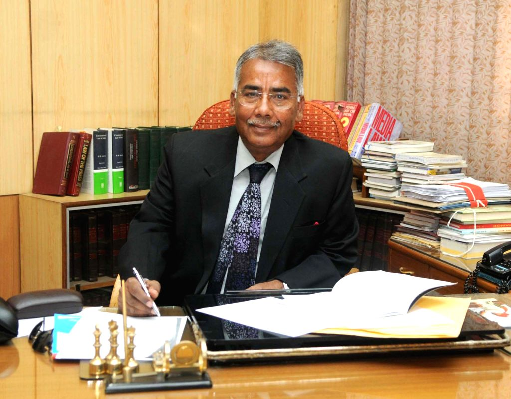 Justice C.K Prasad assumes charge as the Chairman for Press Council of India, in New Delhi on Nov 27, 2014.