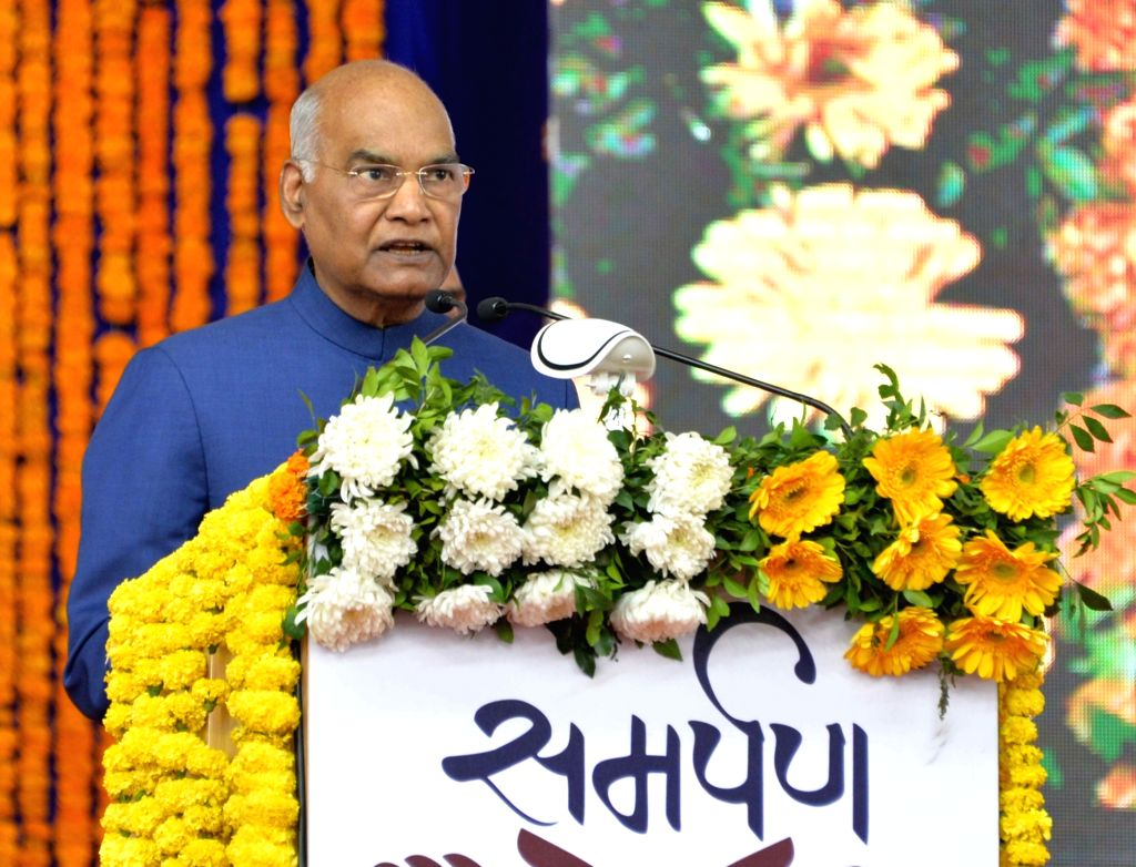 New Delhi, March 29 (IANS) President Ram Nath Kovind on Sunday announced to contribute his one month salary to Prime Minister's relief fund to fight novel coronavirus crisis and also appealed to citizens to donate funds to defeat the pandemic. - Nath Kovind