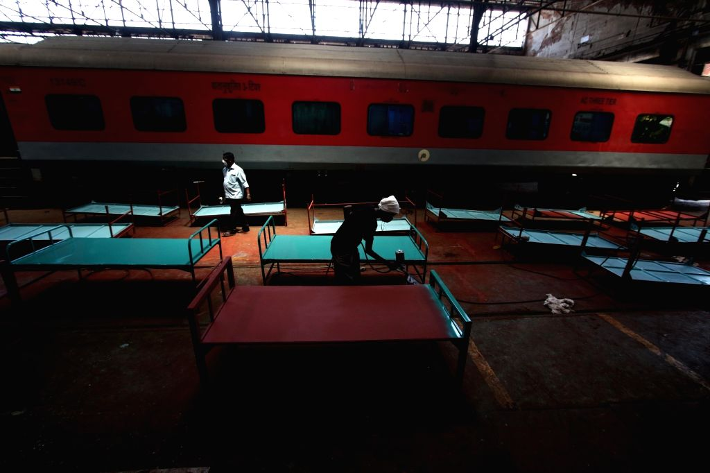 New Delhi, March 30 (IANS) The Indian Railways on Monday said it will convert 5,000 rail coaches into isolation wards to combat the spread of coronavirus.