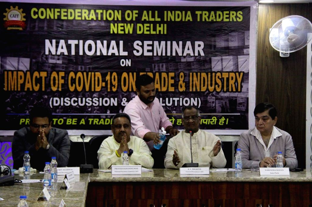 New Delhi, March 31 (IANS) Retailers have incurred around $30 billion losses in the past 15 days due to the lockdown announced by the government to contain Covid-19 spread, according to the Confederation of All India Traders (CAIT). (File Photo: IAN