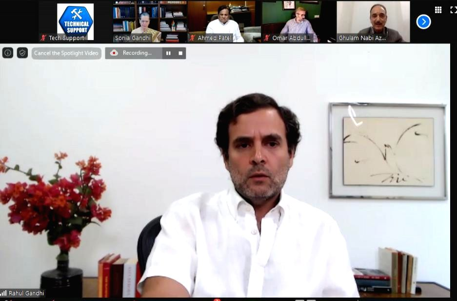 New Delhi, May 26 (IANS) Former Congress President Rahul Gandhi on Tuesday said that calling him a 'dramebaaz' is Finance Minister Nirmala Sitharaman's view, adding that he made the short documentary of the migrant workers walking to highlight their  - Nirmala Sitharama and Rahul Gandhi