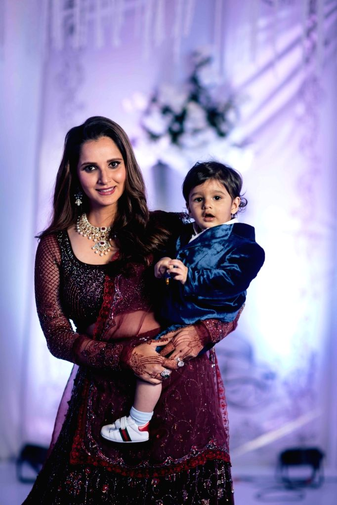 New Delhi, May 9 (IANS) Tennis star Sania Mirza on Saturday posted a picture with her son Izhaan. Sania has been at home since the beginning of the ongoing lockdown in the country.	(File Photo: IANS) - Sania Mirza