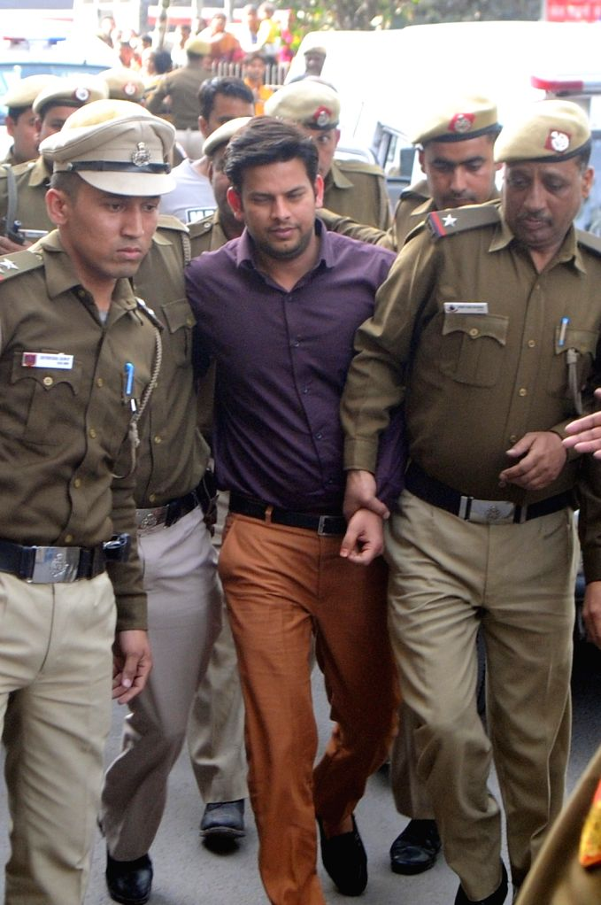 New Delhi, May 9 (IANS) The Delhi Police on Saturday arrested Aam Aadmi Party legislator Prakash Jarwal and his associate, accused in an abetment to suicide case.