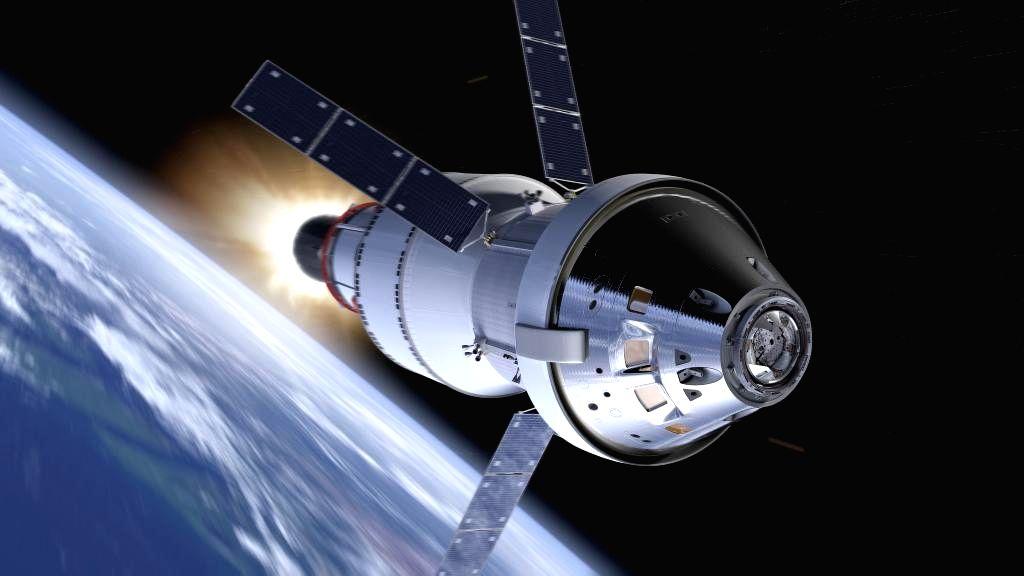 New Delhi: NASA Orion spacecraft. (Photo: Twitter/@NASA)
