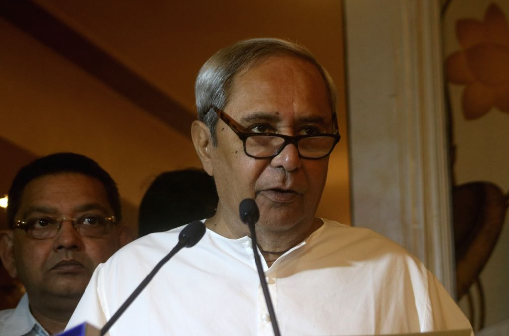 New Delhi: Odisha Chief Minister Naveen Patnaik addresses a press conference in New Delhi on Sept 12, 2018. (Photo: IANS) - Naveen Patnaik